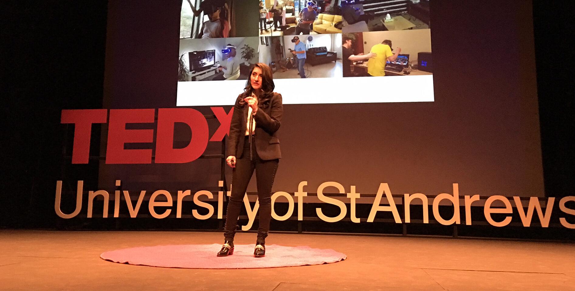 TEDx Virtual Reality Talk